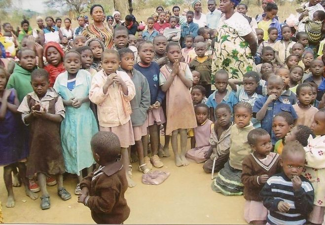 The Orphaned Children in Nakalongo Community